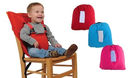 Portable baby chair harness/seat