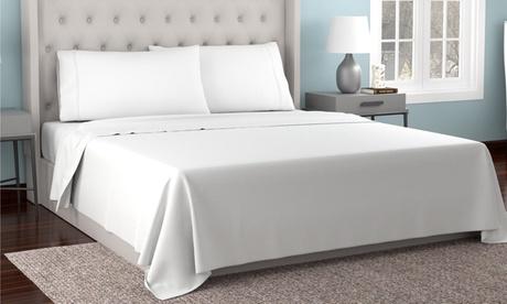 Kathy Ireland 300tc Organic Cotton Soft Percale Sheet Set