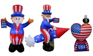 4th of July Patriotic Inflatable