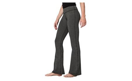 Women's Cotton Yoga Pants With Tie-Dye Fold Down Waist 14ea0e88-5dcd-4986-abd6-2e6aab8c2da2