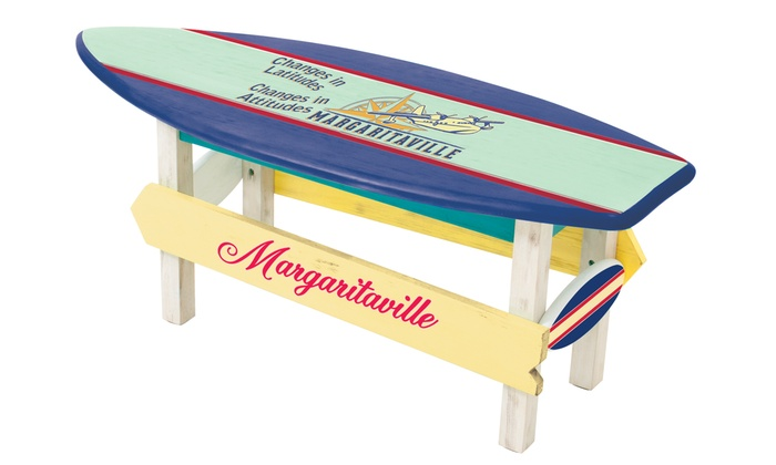 Swell Margaritaville Changes In Attitude Sea Plane Coffee Table Machost Co Dining Chair Design Ideas Machostcouk