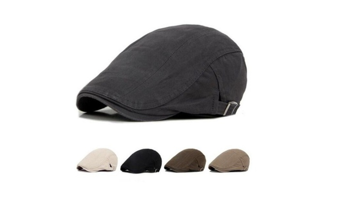 Vogue Men's Ivy Hat Solid Cotton Cap