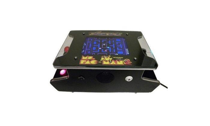 Pac Man Machine >> Up To 3 Off On Mini Cocktail Arcade Machine Groupon Goods