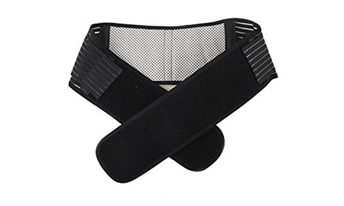 Adjustable Spontaneous Self Heating Magnetic Therapy Waist Belt Belly