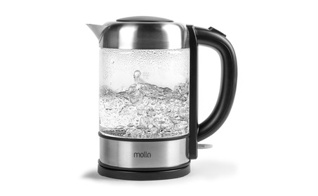Molla Púro Cordless Glass Electric Water Kettle 83c359dc-6ba4-494b-97ac-2bc2d5cfbaef