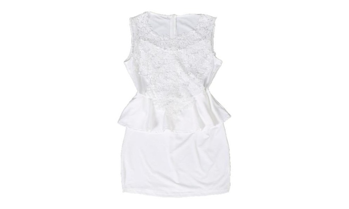 Women's Without Hood Fashion Empire Waist Dress
