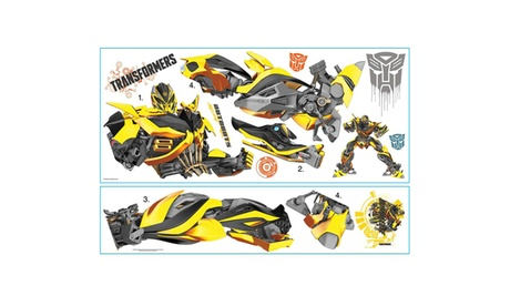 Roommates Transformers: Age of Extinction Bumblebee Giant Wall Decal 81c8ac81-f017-4777-a911-1a9027e3372c