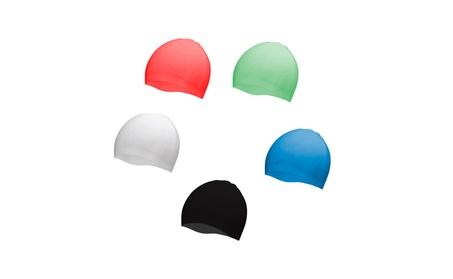 Premium Silicone Swim Cap for Women Men and Kids 23c95ba4-6968-4daa-869f-1e9bafcd7478