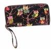 PU Leather Zipper Wallet Purse for Women
