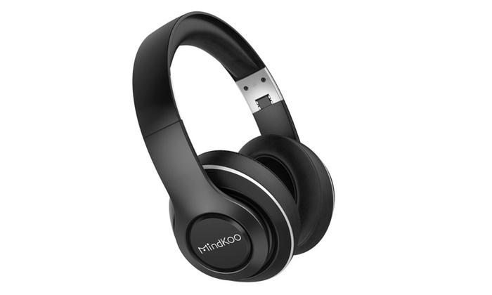 73486e8945a MindKoo Bluetooth Over-Ear Headphones Hi-Fi Stereo Wireless Headset ...