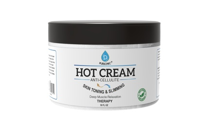 Pursonic Anti-Cellulite and Muscle Relaxation Hot Cream (10 Fl. Oz.)