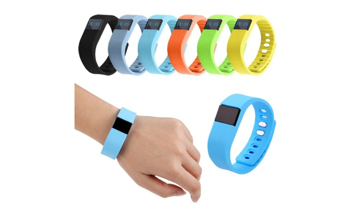 Waterproof Smart Wristband Sleep Monitor and Fitness Tracker