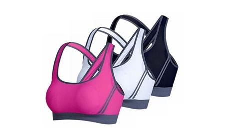 3 Pack Women's Seamless Padded Sports Bra Workout Yoga Bras ad70fe9e-ce58-4463-9568-bf91ab83ebf6