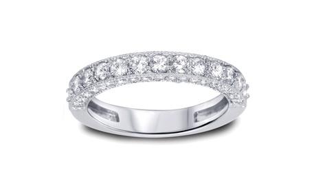1 1/6 CT Diamond Vintage Heirloom Ring 14K White Gold 08d3bc8c-3bc1-4e09-8e34-917f8b0d1f15