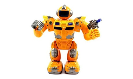 VT Super Robot Battery Operated Toy Figure Flashing Lights, 1577fe8e-246f-46c6-ba2d-d0cc83155472
