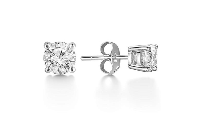 93b79135f Up To 55% Off on Sterling Silver Round 6mm Cub... | Groupon Goods