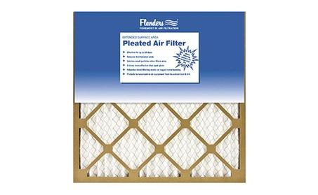 Flanders 81555.012020 20 x 20 in. Basic Pleated Air Filter Kraft Frame 45b73fae-1142-4ded-8b9c-0dbffc0c645c