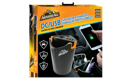 ArmorAll DC/USB Cup Holder Charger 21b40c75-bc31-4e4b-9af2-741d21b76c4c