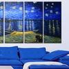 Large Multi-Panel Van Gogh Masterpiece Reproduction Canvas Prints