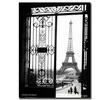 Sally Gall Views of Paris Canvas Print