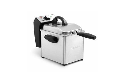 Cuisinart CDF-130 Compact Deep Fryer, 2 quart, Stainless Steel photo