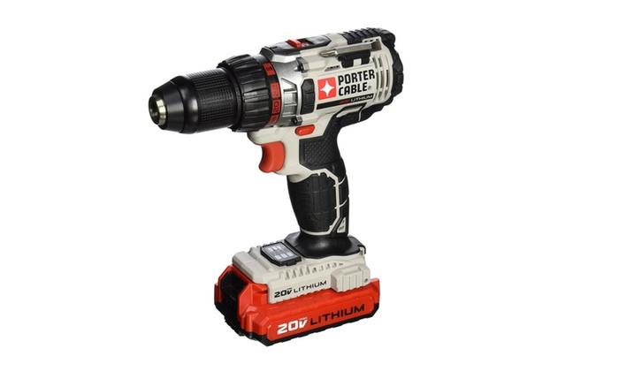 Porter-Cable pcc606la 20-Volt 1/2-Inch Drill/Driver Kit