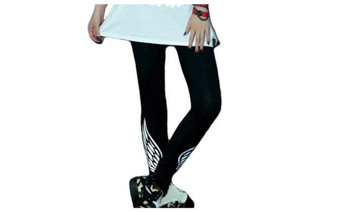 Women's 2016 Fashion Skinny Leg Printed Ninth Leggings