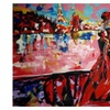 """Painting titled """"Paris Romance"""" By The Author Pennie Mae Cartawick"""
