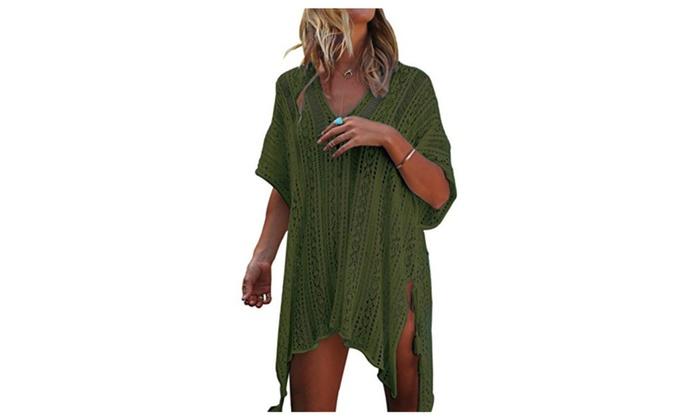 906512eebfe3 Jeasona Women s Bathing Suit Cover Up
