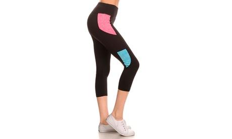 Seamless Performance Capri Legging Size: S-M-L 2dc5e8a6-3ef3-41a7-9f61-062deba22ca3