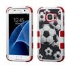 Insten Tuff Soccer Ball Collage Hard Hybridcase For Samsung Galaxy S7
