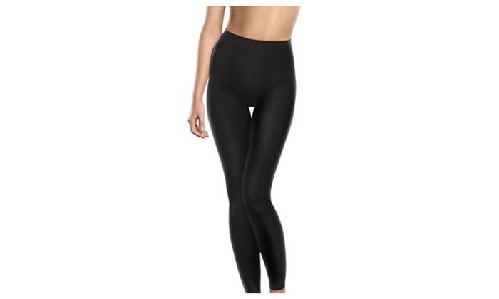 Lytess Women's Body Trimmer Support Leggings S/M Black - Black / Small/Medium