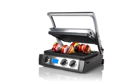 Wolfgang Puck 5-in-1 Grill and Griddle with Dual Temperature Controls 41374855-1232-44ac-a295-5f2594909821