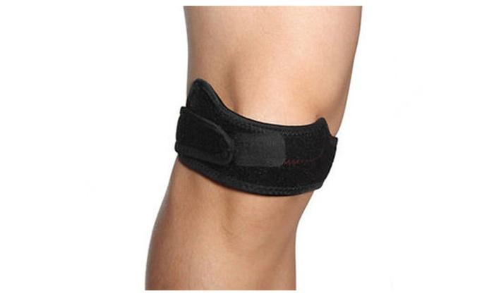 Unisex Gel-Comfort Knee Support Brace Strap Band