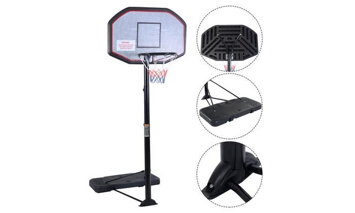 Basketball Hoop 43'' Adjustable Height 10FT