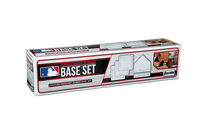 Franklin Throw Down Set Baseball Bases