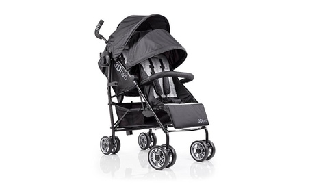 Summer Infant 3Dtwo Double Convenience Stroller, Gray Squared 66cb69c5-1e23-41b3-a59c-03823c805bfa
