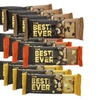 Best Bar Ever Protein Food Bar - Variety Pack Real Food(65 grams each)
