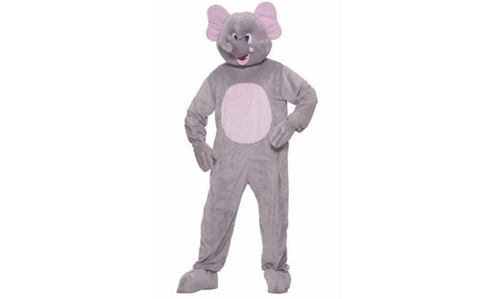 Elephant Plush Adult Costume