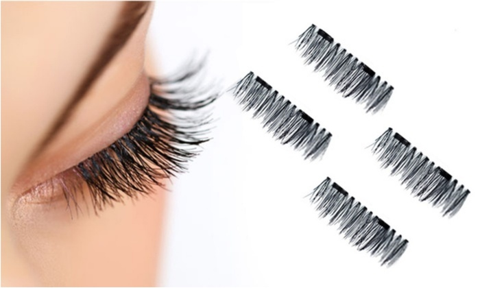 Magnetic False Eyelashes (One Set)