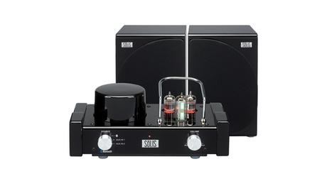 Stereo Bluetooth Vacuum Tube Audio System, 2 Amp Tubes, 1 VU Tube ee976da0-6b83-4727-9a97-1c02a52135a8