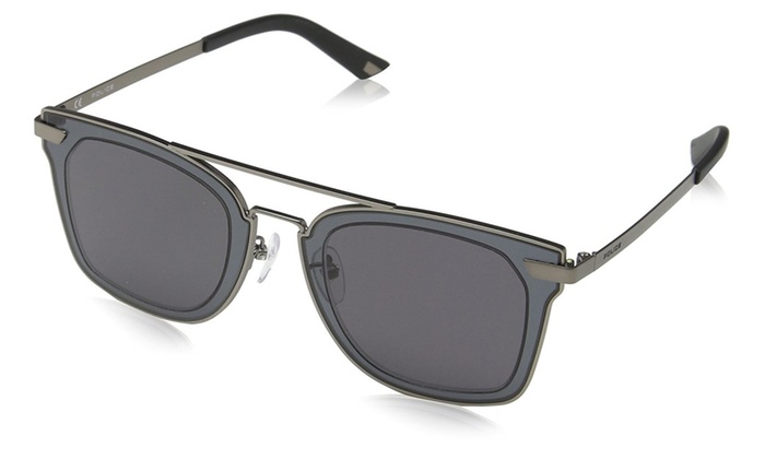 b2b439277f Sunglasses Police HALO 1 SPL348 0627 Unisex Grey Square