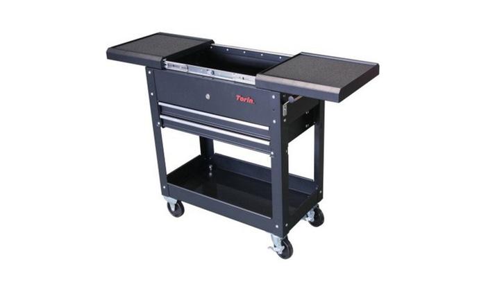 Adjustable Table Tool Cart
