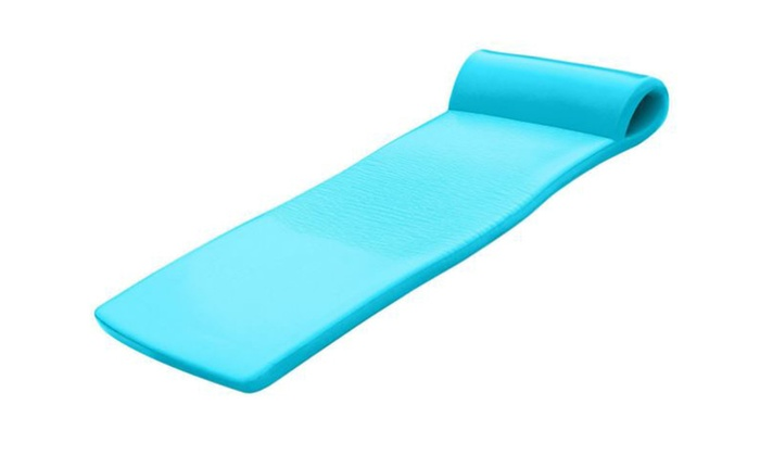 Pool Float Foam Raft Lounger Sunsation 70 Inch Tropical Teal ...