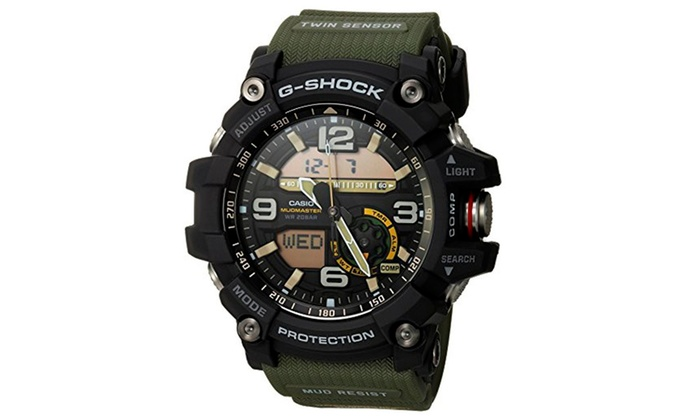huge selection of ab794 36a70 Casio G-SHOCK GG-1000-1A3CR Mudmaster Quartz Casual Watch - Green