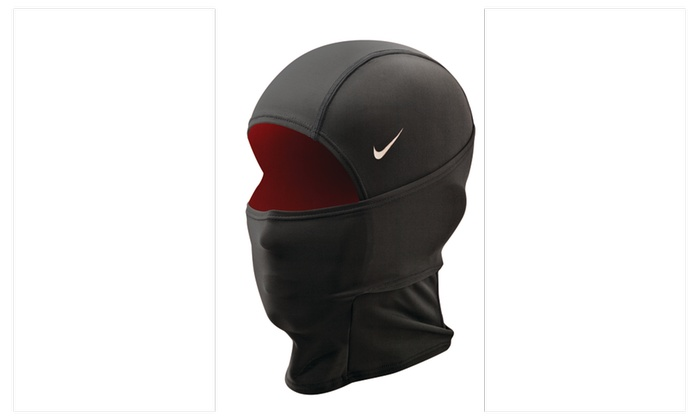 Nike Pro Combat Hyperwarm Hydropull Hood  Black/Gym Red