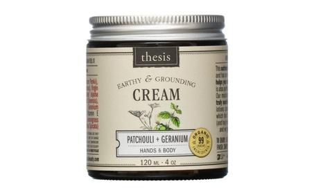 Organic Body Cream - Raw Shea Butter - Exotic Patchouli, Geranium