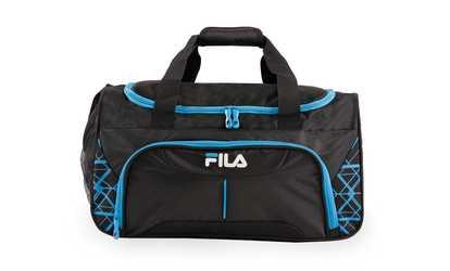 ed0fdac96521 Shop Groupon Fila Fastpace Small Sports Duffel Gym Bag