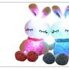 75cm Led Luminous Rabbit Toys Cute Kid Music Glowing Plush Rabbit Doll