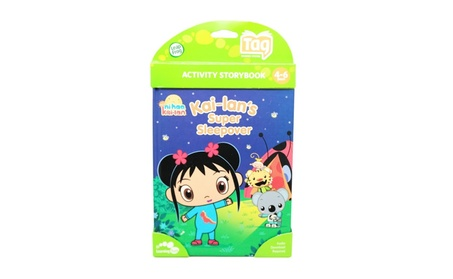 LeapFrog Tag Activity Storybook: Ni Hao Kai-lan's Super Sleepover 12f6122b-c043-4d9a-bbc4-c0c1ebef1553